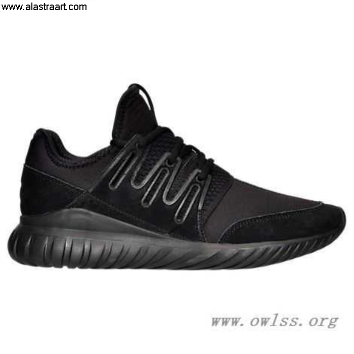 Black/Black Mens Pleasure adidas Tubular Casual Radial S80115 Shoes Mono CDINSY0126