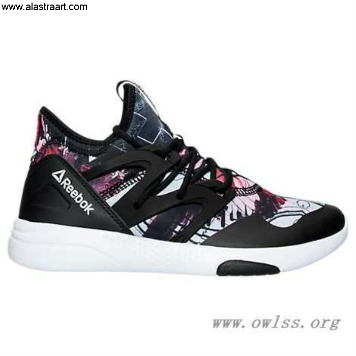 Black/White/Graphic Womens Reebok Clear Casual AQ9885 BLK Hayasu Shoes FGLNQVY046