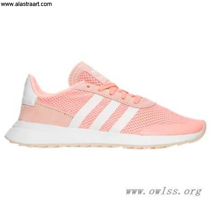 Haze Coral/White Well-made Womens adidas Shoes BA7759 COR Casual Flashback DIOPQTZ358