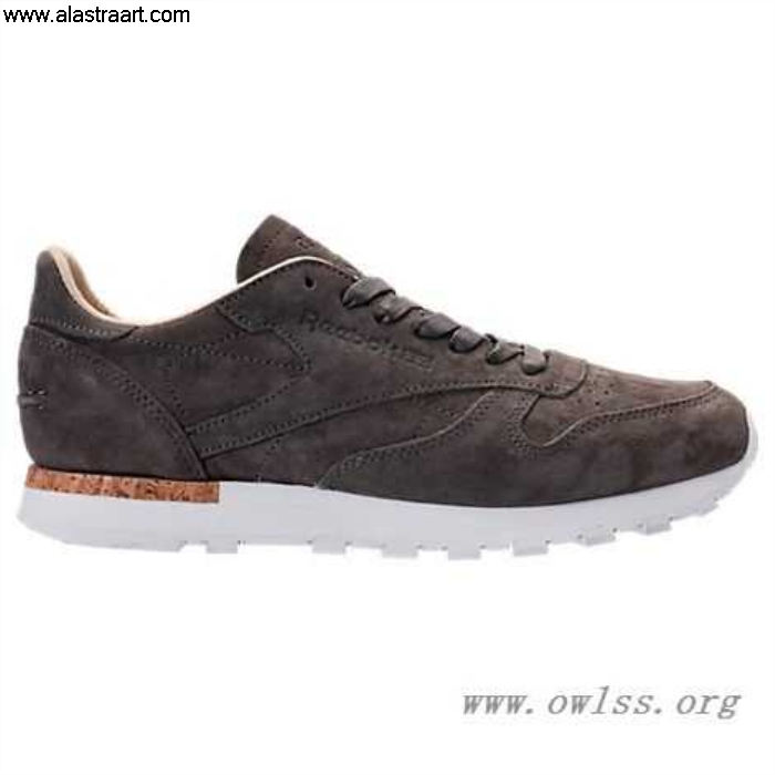Urban Grey/Stone/White Providers Mens Reebok Classic Casual BD1903 LST Shoes Leather BMVX013489